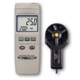 Ανεμομετρο-Θερμομετρο YK-80AP