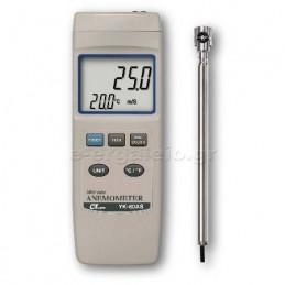 Ανεμομετρο-θερμομετρο YK-80AS