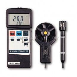 Ανεμομετρο-θερμομετρο-υγρασιομετρο AM-4205