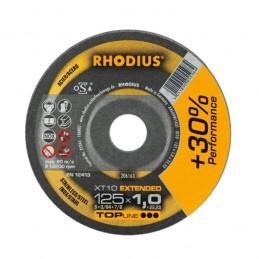 Δισκος κοπης ανοξειδωτου Φ115x1mm RHODIUS XT10
