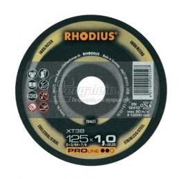 Δισκος κοπης ανοξειδωτου Φ115x1mm RHODIUS XT38