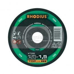 Δισκος κοπης πετρας Φ125x1.5mm RHODIUS XT66
