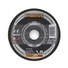 Δισκος κοπης αλουμινιου Φ125x1.5mm RHODIUS XT24
