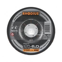 Δισκος λειανσης αλουμινιου Φ125x6mm RHODIUS RS24