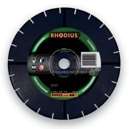 Διαμαντοδισκος δομικων υλικων Φ125x2.4mm RHODIUS DG25