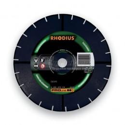 Διαμαντοδισκος δομικων υλικων Φ180x2.6mm RHODIUS DG25