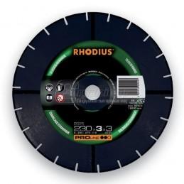 Διαμαντοδισκος δομικων υλικων Φ230x3mm RHODIUS DG25