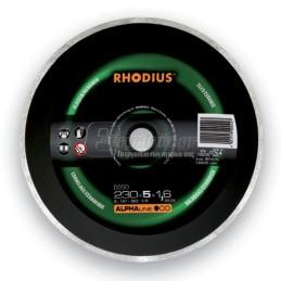 Διαμαντοδισκος κεραμικων Φ230x1.6mm RHODIUS DG50