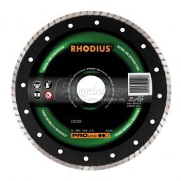 Διαμαντοδισκος δομικων υλικων Φ180x2.3mm RHODIUS DG35