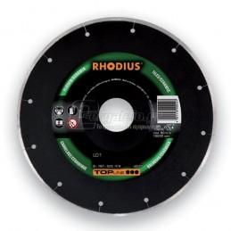 Διαμαντοδισκος δομικων υλικων Φ125x1.2mm RHODIUS LD1