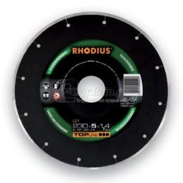Διαμαντοδισκος δομικων υλικων Φ230x1.4mm RHODIUS LD1