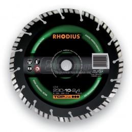 Διαμαντοδισκος γρανιτη Φ230x2.4mm RHODIUS LD4