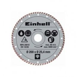 Einhell Διαμαντοδισκος κοφτη πλακιδιων Φ200x1.6mm 4301175