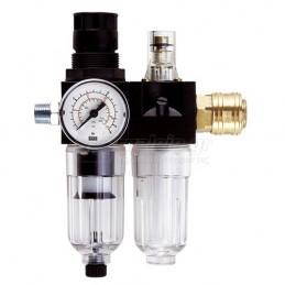 "Einhell Ρυθμιστης πιεσης 1/4\""με υδατοπαγιδα & ελαιωτηρας 4135001"