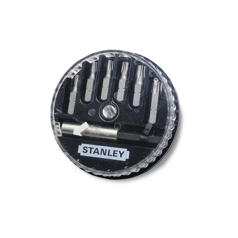 Σετ μυτες-ανταπτορας 7τεμ. STANLEY (Torx) 168739