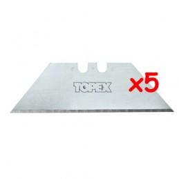 Ανταλλακτικες λαμες 51mm (5τεμ.) TOPEX 17B405