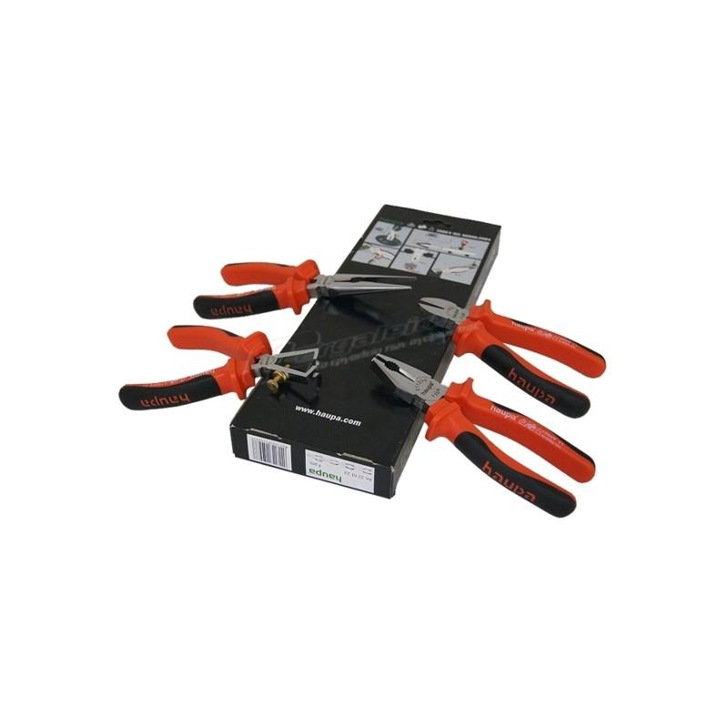 Σετ 4τεμ. ηλεκτρολογου VDE 1000V HAUPA 220123