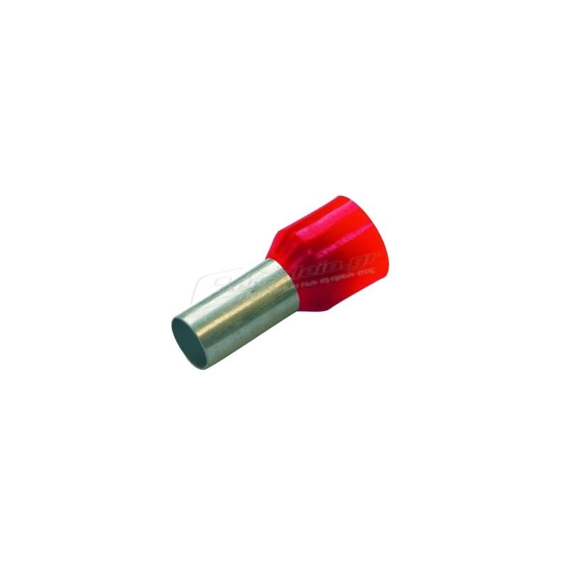 Ακροδεκτης κως μυτης μονωμενος 1/8 HAUPA 270804 (100τεμ.)