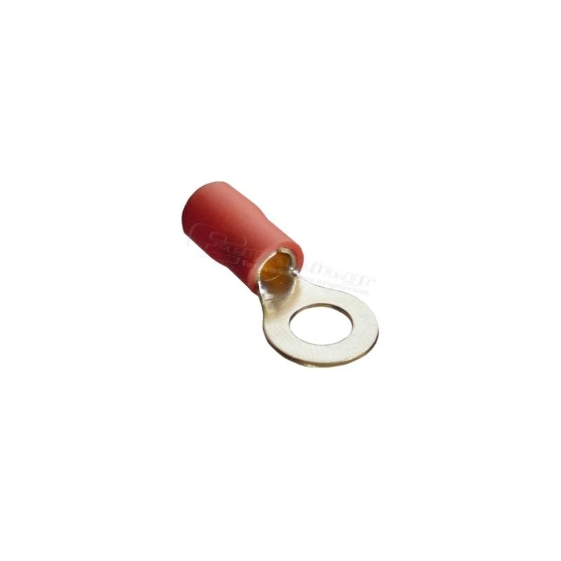 Ακροδεκτης κως οπης μονωμενος M6 0.5-1.0mm HAUPA 260260 100τεμ.