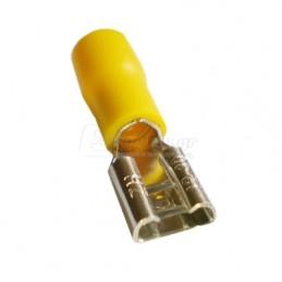 Ακροδεκτης φαστον θηλυκο μονωμενος 4.0-6.0mm HAUPA 260396 100τεμ