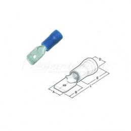 Ακροδεκτης φαστον αρσενικο μονωμενος 1.5x2.5mm HAUPA 260424