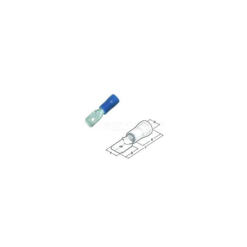 Ακροδεκτης φαστον αρσενικο μονωμενος 1.5x2.5mm HAUPA 260520