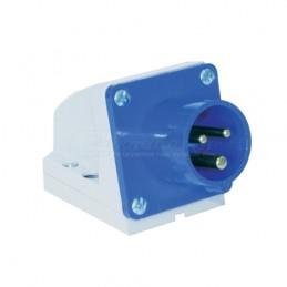 Φις αρσενικο επιτοιχο 230V 3x16A IP44 PCE 513-6