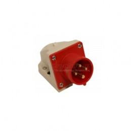 Φις αρσενικο επιτοιχο 400V 4x16A IP44 PCE 514-6