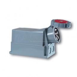 Πριζα επιτοιχη 400V 5x125A IP67 PCE 145-6