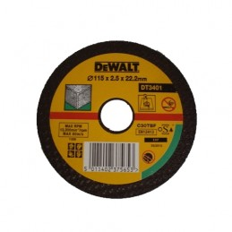 Δισκος κοπης πετρας Φ115x2.5mm DEWALT DT3401