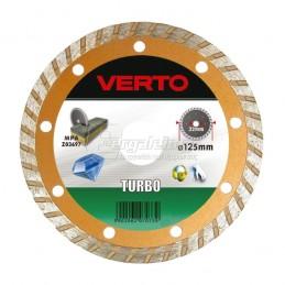 Διαμαντοδισκος δομικων υλικων Φ125x2mm TOPEX VERTO 61H3P5 Turbo