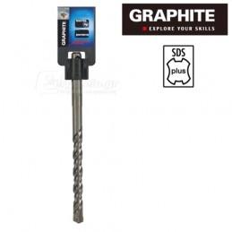 Τρυπανι τετρακοπο Φ14x600mm SDS-PLUS TOPEX GRAPHITE 574664