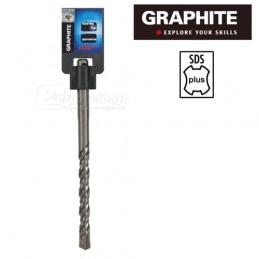 Τρυπανι τετρακοπο Φ16x310mm SDS-PLUS GRAPHITE 57H474