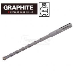 Τρυπανι τετρακοπο Φ10x160mm SDS-PLUS TOPEX GRAPHITE 57H424 574244