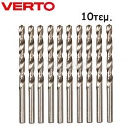 Σετ τρυπανια μεταλλου 10τμχ 1x34mm HSS VERTO 60H070 600707