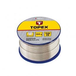 Συρμα κολλησης 0.7mm-100gr TOPEX 44E512