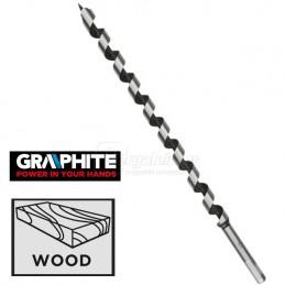 Τρυπανι ξυλου οφιοειδη 18x400mm TOPEX GRAPHITE 57H257
