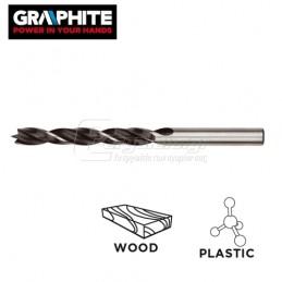 Τρυπανι ξυλου ακιδος-πλαστικου 04x70mm GRAPHITE 57H271