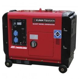 Γεννητρια KUMATSU 6.6KVA 400V GP8000MAT 008347