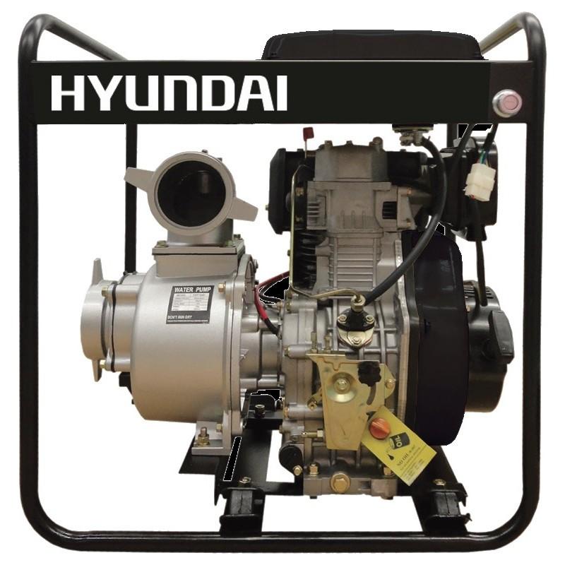 """Αντλητικο πετρελαιου (με μίζα) 5HP 2\"""" HYUNDAI DP20E"""