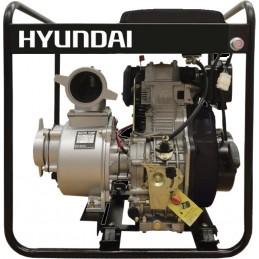 """Αντλητικο πετρελαιου (με μίζα) 10HP 4\"""" HYUNDAI DP40E"""