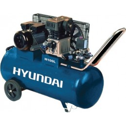 Αεροσυμπιεστης 100L 3Hp HYUNDAI H100L