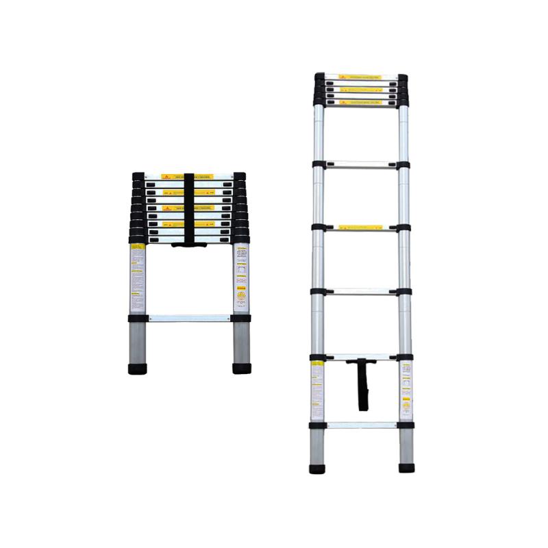 Σκαλα αλουμινιου τηλεσκοπικη με 10 σκαλια BORMANN BHL7010 022770