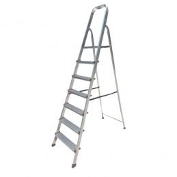 Σκαλα αλουμινιου με 5+1 σκαλια BORMANN BHL5005 022800