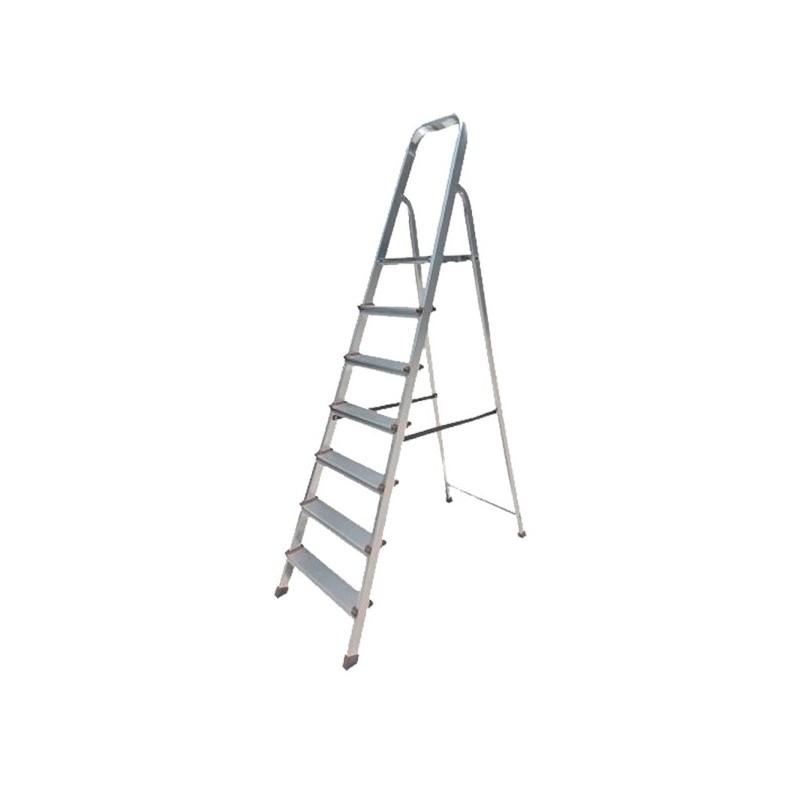 Σκαλα αλουμινιου με 6+1 σκαλια BORMANN BHL5006 022817