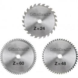 Einhell Σετ δισκοι φαλτσ/νου 3τμχ 210x2.5mm 24/48/60 δοντιων