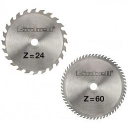 Σετ δισκοι φαλτσ/νου 2τμχ 250x3mm 24/60 δοντιων EINHELL 4502129