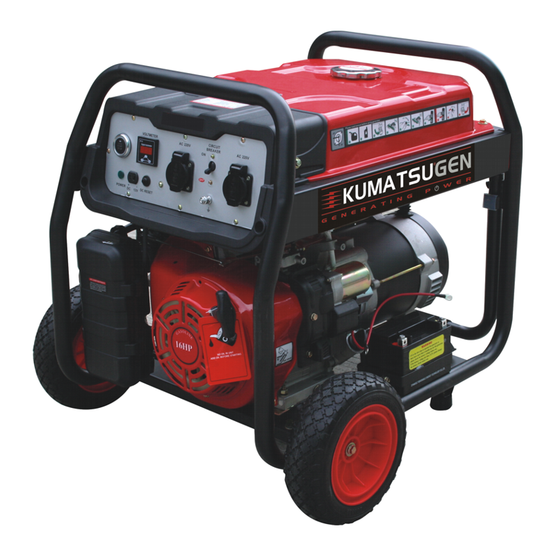 Γεννητρια βενζινης 230V 8kVA KUMATSU GB8500MP 014645