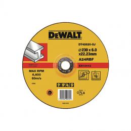 Δισκος λειανσης μεταλλου Φ230x6mm DEWALT DT42620