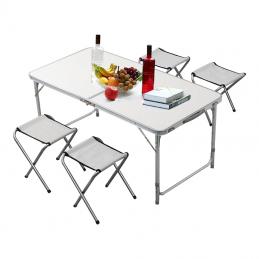 Σετ Τραπέζι με 4 σκαμπώ-Βαλίτσα BORMANN BGS1000 026808